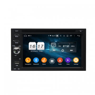 "Android 9.0 2din 6.2"" universal car dvd player"