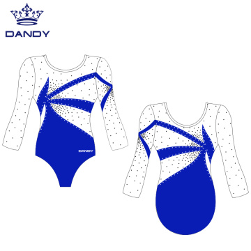 Custom 3/4 sleeve competition leotards