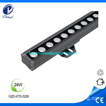 24W IP65 waterproof single color led linear light