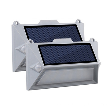 PIR Led Solar Wall Garden Light Outdoor