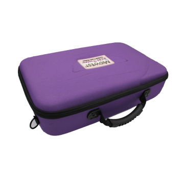 Multifunction custom logo protective handle eva tool case with high capacity