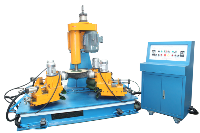 alloy wheel polishing machine