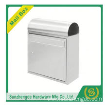 SMB-008SS modern design galvanized steel wall mounted mailbox