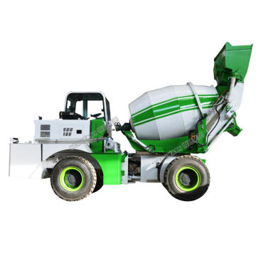 2.4 Cubic Mobile Hydraulic Concrete Mixer Truck For Sale