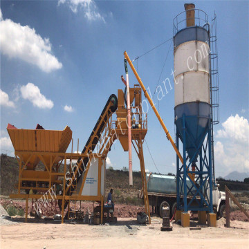 Mobile Batching Plant For Sale in Mexico