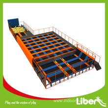 Indoor Large Adult Trampoline Park