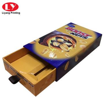 Luxury chocolate bar paper packaging box