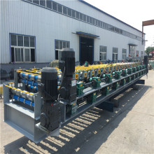 double line color sheet roll forming machine