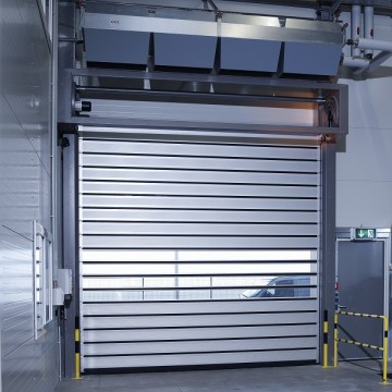 Anti-era 40mm Trashësia Panel Rapid Spiral Door