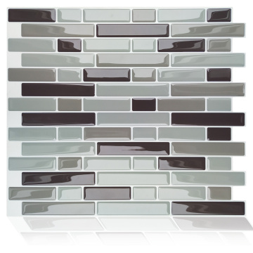 3D Mosaic Waterproof Kitchen Backsplash Self Adhesive Tiles