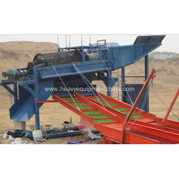 Mobile Rotary Drum Screen For Placer Gold Washing