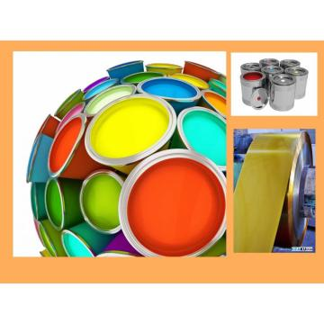 Laminated white Gold Transparent TINPLATE for Paint Cans