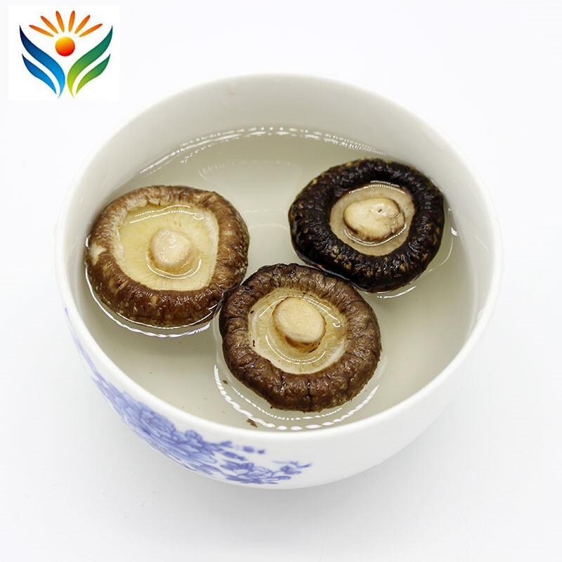 Dried Shiitake Mushrooms Wooden Organic Wild Kitchen Food Natural