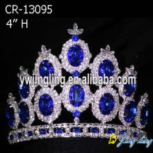 Wholesale Sapphire Crystal Chunky Crowns