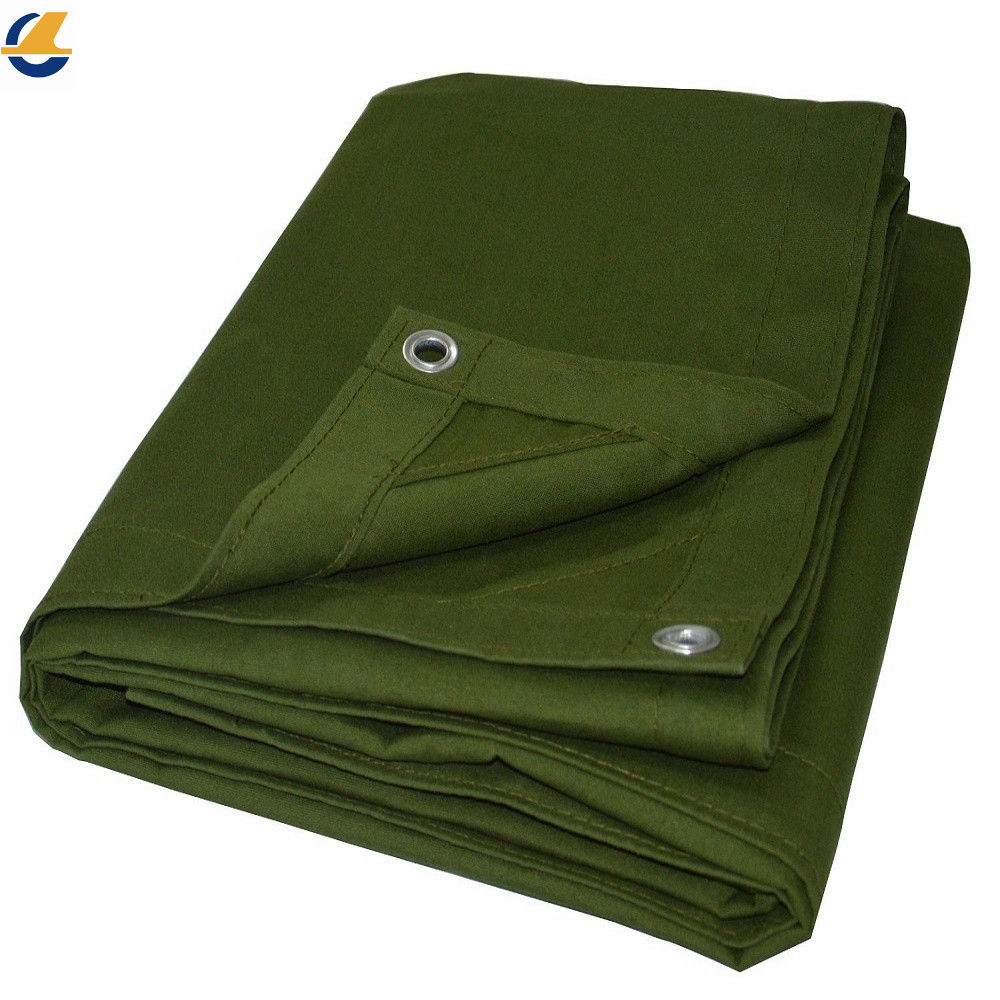 Waterproof Cotton Canvas Tarpaulin
