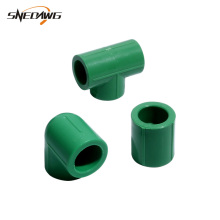 2pcs PPR Water Pipe Fitting Plastic Water Supply Pipe Joint 20/25/32mm 1/2'' 3/4'' 1'' Straight/Elbow/Tee Pipe Fitting Connector