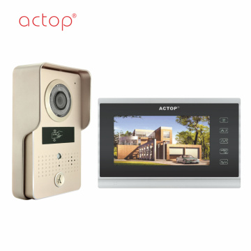 Color Wire lcd Intercom System