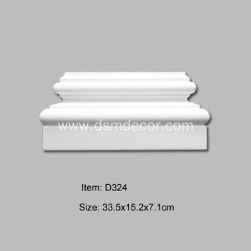 PU Decorative Pilaster Base