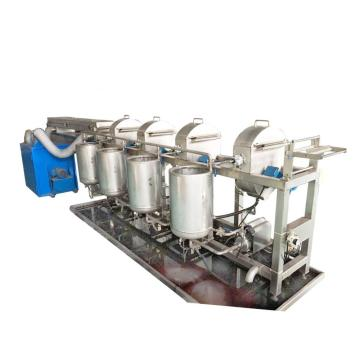Spray point dyeing machine