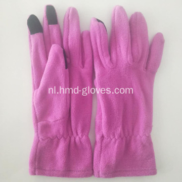 Polar fleece handschoenen doel