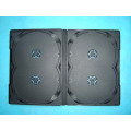 DVD Box DVD Cover dvd case 14mm for 4 Discs Black Without Tray