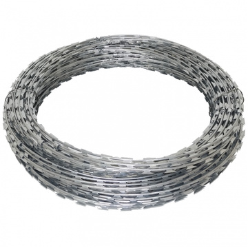 Galvanized Fake Razor Barbed Wire factory