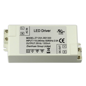 36Volt 1.3A 50Watt AC DC Led transformador de drivers