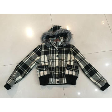 High quality men's jacket in winter