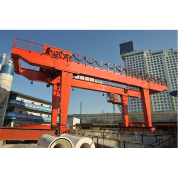 100t A type gantry crane with hook