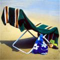 Beach Bag Towel Set Lounge Chair Cover Pocket