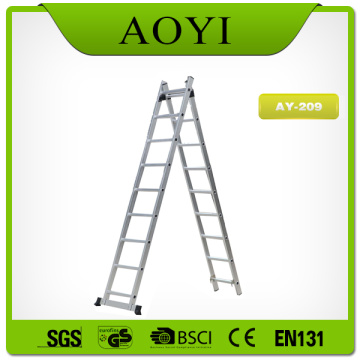 2 section extension ladder