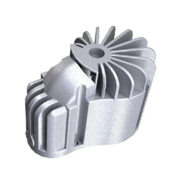High pressure production of custom aluminum alloy casting