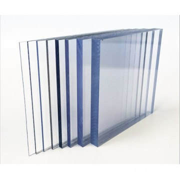 UV coating clear polycarbonate solid sheet outdoor sheet