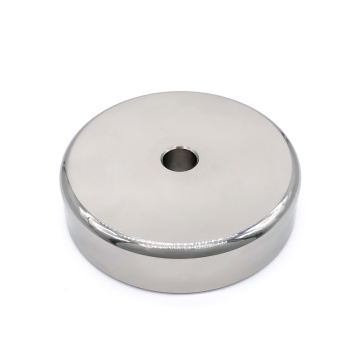 RPM-XA Magnetic Pot Magnet  Round Base
