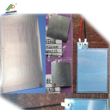 PVDF High Sensitive PIEZO Film With Aluminum