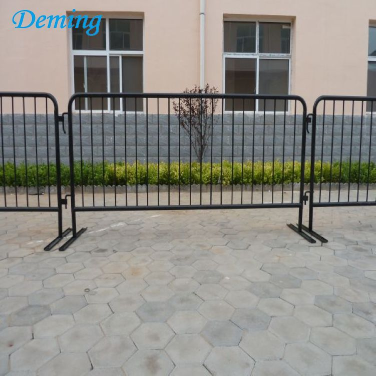 6.5 ft Steel Portable Barrier System/Crowd Control Event Fence