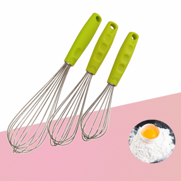3PCS of Stainless Steel Egg Beater