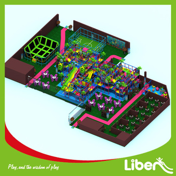 Professional indoor amusement playground