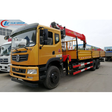 Dongfeng Truck With SANY 12Tons Loading Crane
