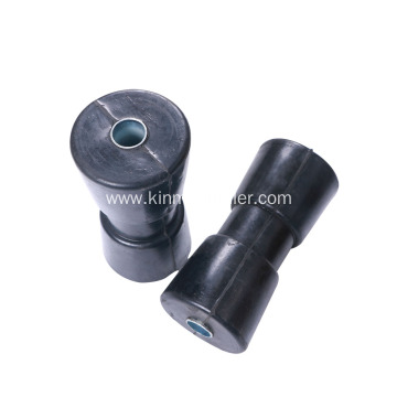 Black Color Boat Trailer Keel Roller