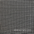 Black White Check Knitted Cinkle
