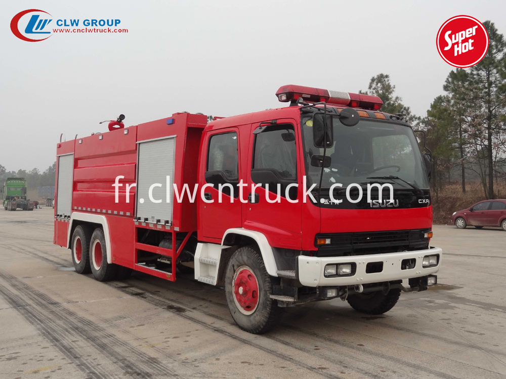 isuzu fire fighter
