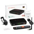 2020 New Satellite tv receiver GTMEDIA V7 Pro DVB-S2/S2X+DVB-C tv tuner update from V7 Plus support 4G dongle USB wifi decoder