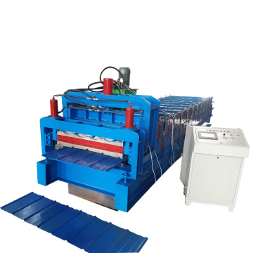 Roof Use Sheet Double Layer Roll Forming Machine