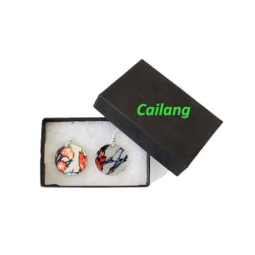 Custom Logo Printing Jewelry Earring Gift Boxes