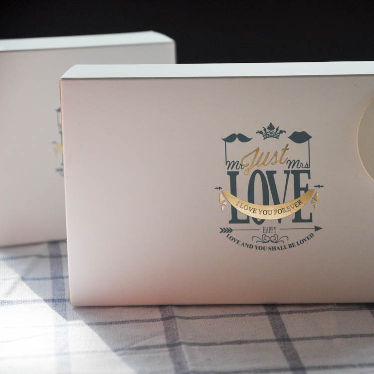 Chocolate box packaging luxury