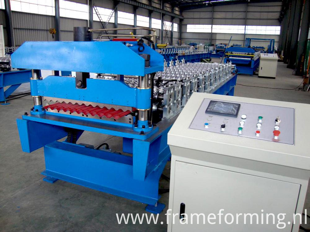 Automatic Roof Panel Forming Machine