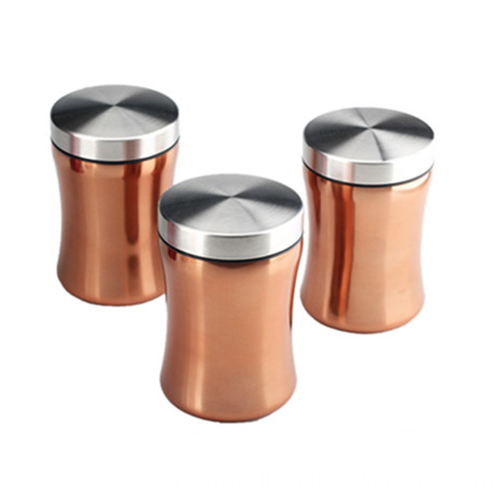 Three Piece Canister
