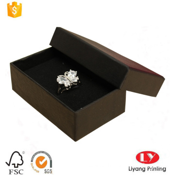 Custom ring jewelry paper packaging gift box