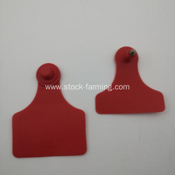 Plastic Cattle Ear Tags For Livestock Farming